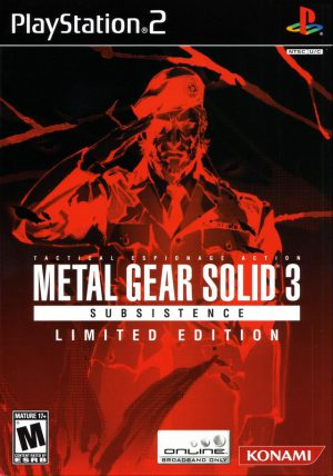 [PS2] Metal Gear Solid 3: Subsistence (Limited Edition)